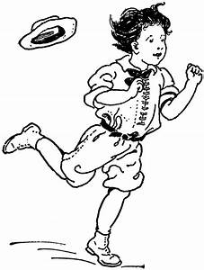 Boy Hopping | ClipArt ETC