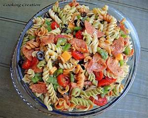 Italian Pasta Salad with Pepperoni & Red Wine Vinaigrette