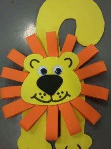 lion craft idea  kids crafts  worksheets