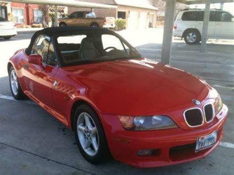 Buy Used 1997 Bmw Z3 Roadster Convertible 2-door 2.8l Red