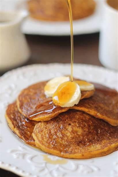 Pancakes Banana Pumpkin Vegan Syrup Hfy Gifs