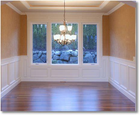 chair rails  wainscoting