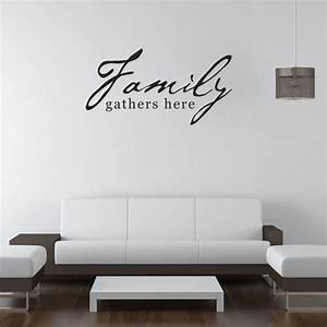 family quotes wall decals quotesgram With wall decals quotes