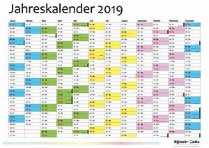 Jahreskalender 2018 2019 : jahreskalender 2019 din a1 dateck media ~ Jslefanu.com Haus und Dekorationen