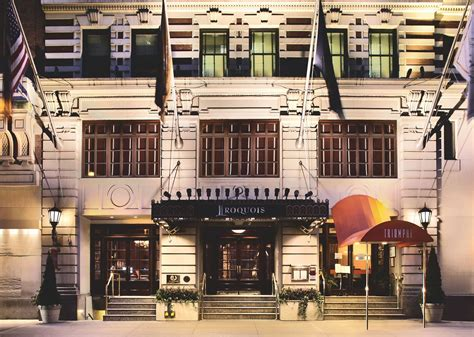 small luxury hotels nyc iroquois triumph hotels