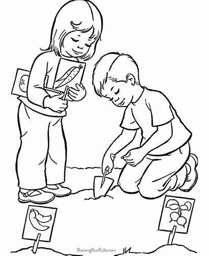 Coloring Pages Summer Helping Others Help Raisingourkids