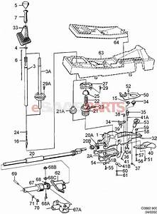 4279493  Saab Shift Lever