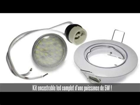 spot led escalier encastrable kit encastrable orientable blanc spot led gu10 5w douille gu10