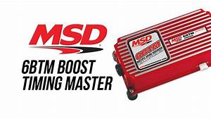 Msd 6 Btm Boost Timing Master