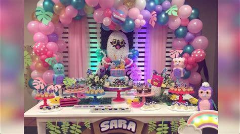 fiesta de hachimals party girlsdecoraciones