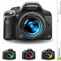 Camera icon stock vector. Image of photo, equipment, body ...