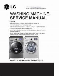Lg F1443kds7 Washing Machine Service Manual