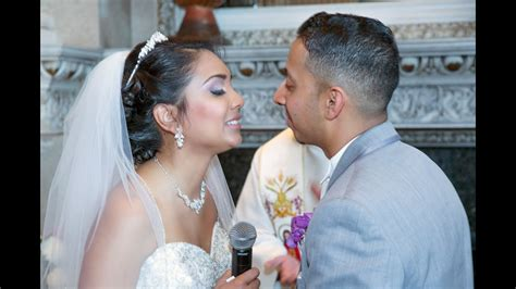 toronto trinidad wedding highlights video gta wedding