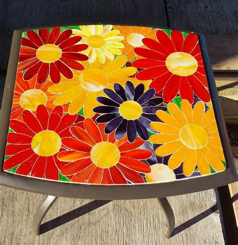 stained glass table ls stained glass patio tables delphi artist gallery