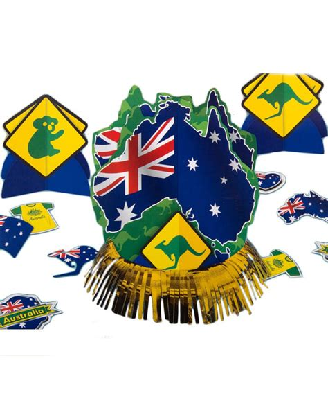 australia day party supplies decorations table decorating