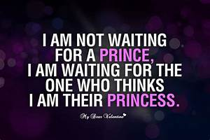 I am not waiting for a prince - - image #942100 by ...