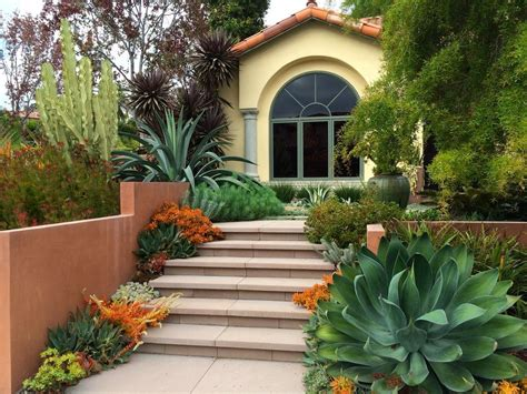 front yard landscaping ideas landscape modern  side