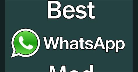 gb whatsapp the best mod you should use
