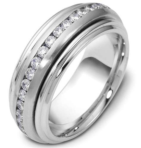 ppp platinum center rotating diamond eternity ring