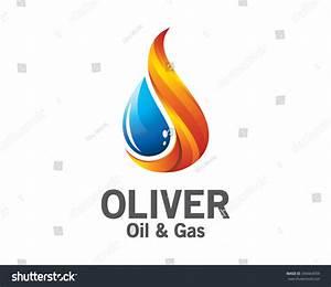 3d Oil Gas Logo Design Colorful Stock Vector 340464059 ...