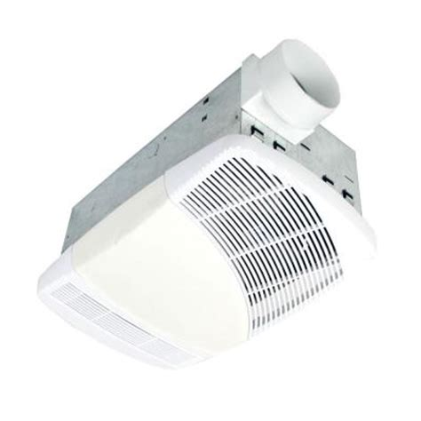 Home Depot Bathroom Exhaust Fan Heater by Nuvent 70 Cfm Ceiling Heat Vent Exhaust Bath Fan With