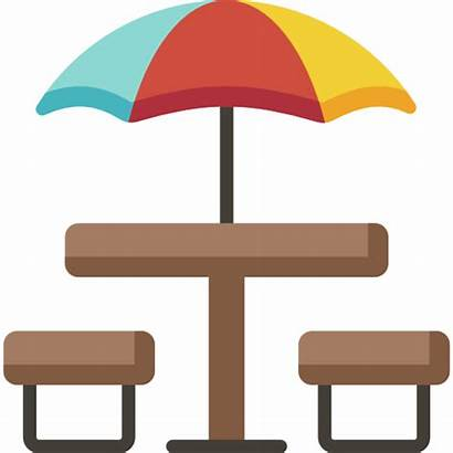 Picnic Patio Table Outdoor Gifts Deck Icon