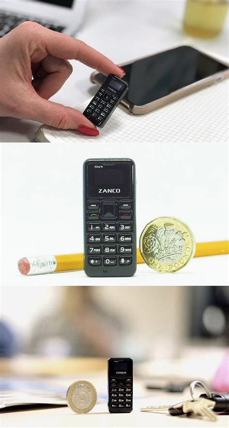 zanco tiny t1 is world s smallest functional cell phone