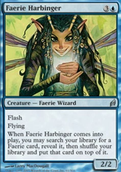 Mtg Faerie Deck 2014 by Xcn