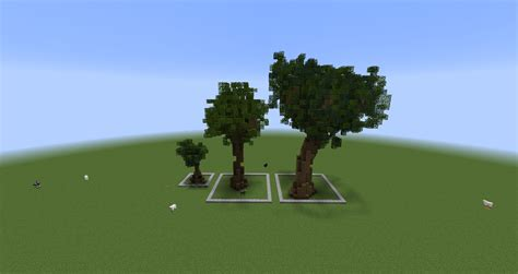 minecraft custom tree pack  cubecraft games