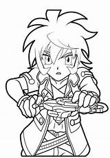 Coloring Beyblade Pages Print sketch template