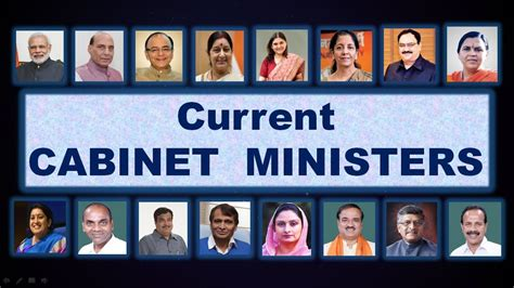 List Of Current Cabinet Ministers by Current Cabinet Ministers Of India 2018 In Bengali Updated