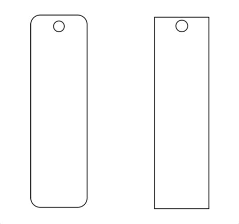 blank funeral bookmark template funeral program template