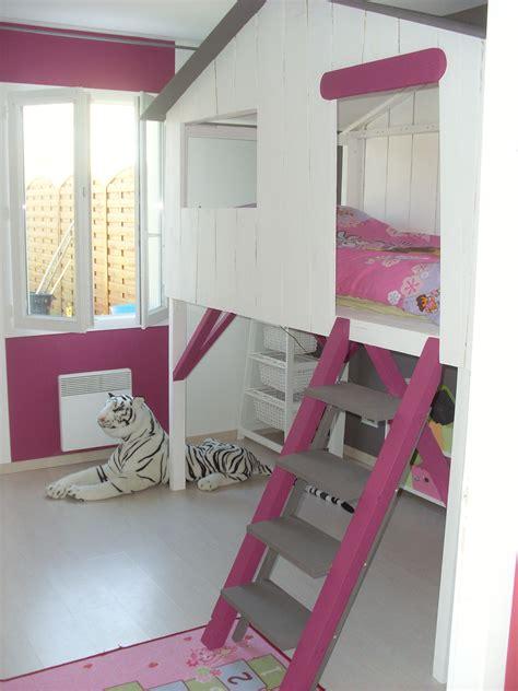 cabane chambre fille le lit cabane chambre enfant meilleures