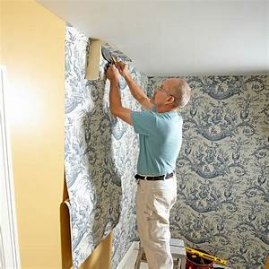 This Is How To Hang Wallpaper