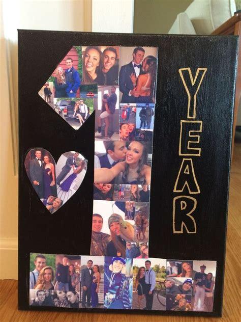 pin  bethany reeves  boyfriend diy anniversary gifts