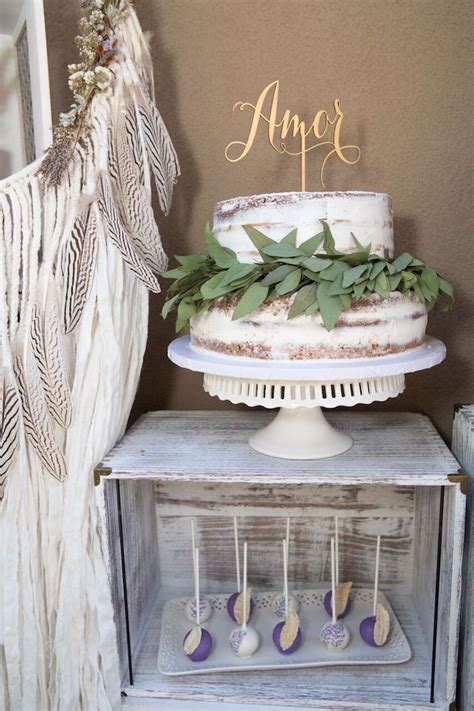 French Country Bohemian Bridal Shower Bridal Shower