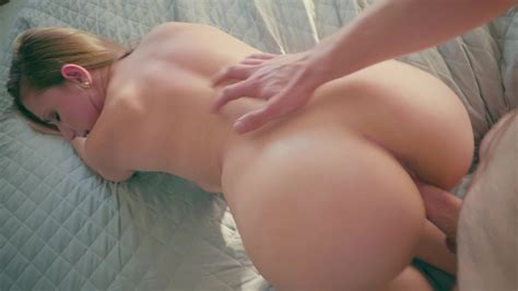 A Busty Blonde With A Big Ass Is Getting Fucked Hard Doggy