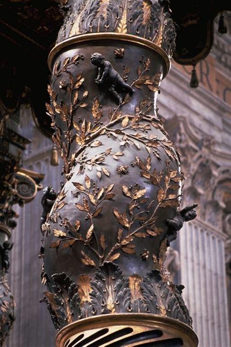 baldacchino di san pietro bernini top 25 ideas about bernini on baroque rome