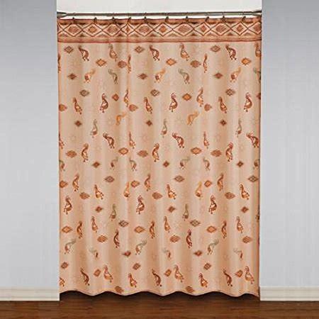 Kokopelli Shower Curtain - kokopelli southwestern fabric shower curtain walmart