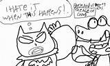 Baloney Dinosaur Batman Vs sketch template