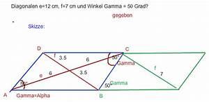 30 Grad Winkel Konstruieren : parallelogramm winkel berechnen parallelogramm berechnen der diagonalen onlinemathe das mathe ~ Frokenaadalensverden.com Haus und Dekorationen