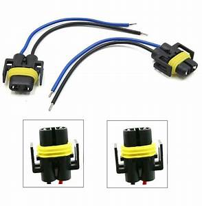 Wire Pigtail Female 881 H27 Two Harness Adapter Halogen