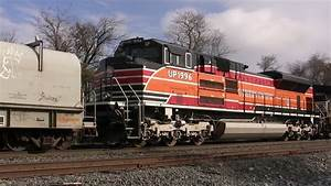 Southern Pacific Heritage Unit on Norfolk Southern Freight ...