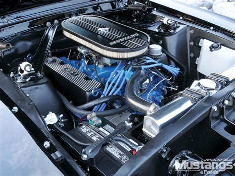 1967 Ford Mustang Engine Pictures