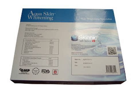 vivie shack aqua skin whitening skinnic