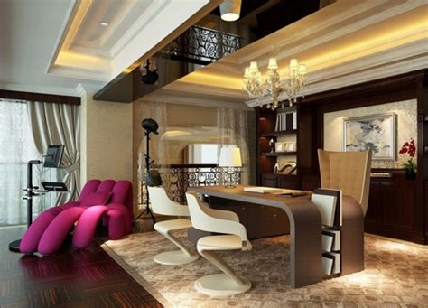 Luxury Corporate And Home Office Interior Design Ideas By