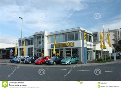 Opel Dealership Editorial Stock Image Image Of Chrome