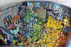 Has caught em Woman owns world s largest collection Pokemon memorabilia consisting 16 000 items ments