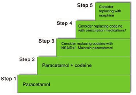 analgesic ladder recommendations  musculoskeletal