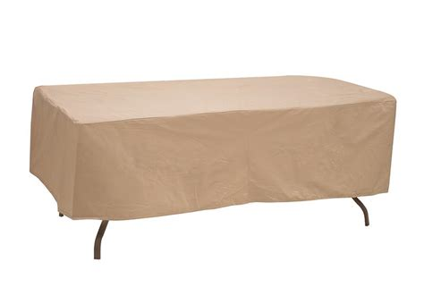 oval and rectangular patio table covers